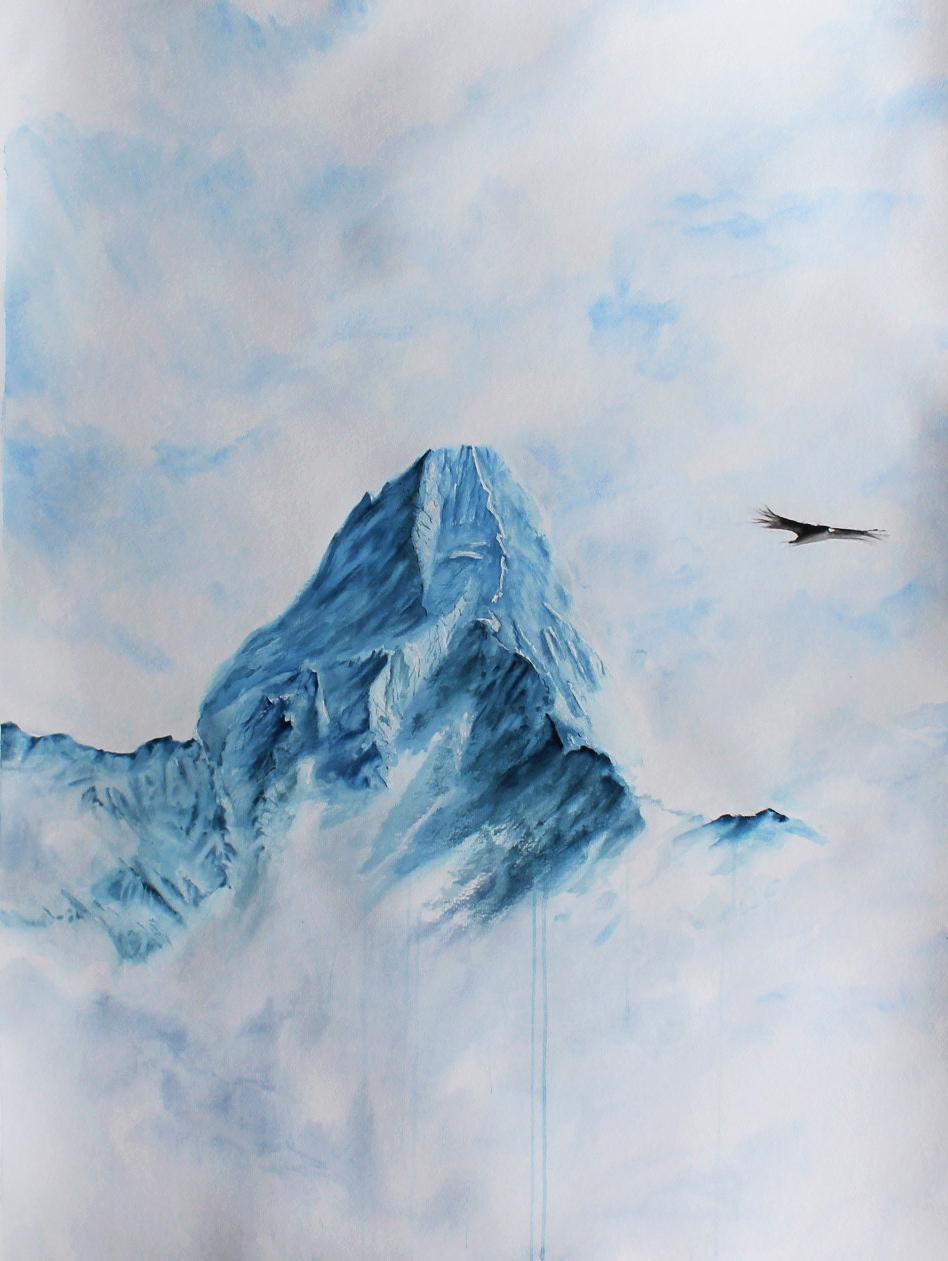 schneeberg-aquarelle-kunstwerk-auf-große-leindwand