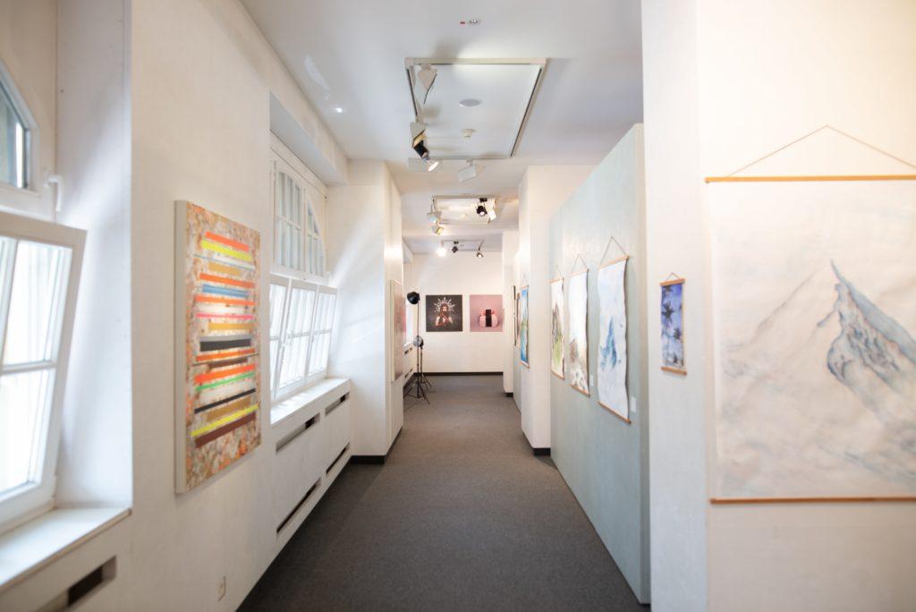 Zeitgenössische Kunst-Ausstellung im Auktionshaus Nagel powered by Plattform 11