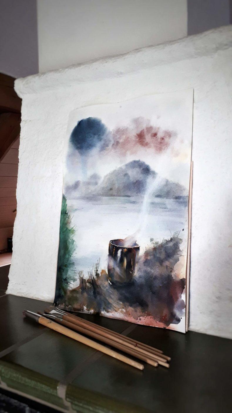 unikat-aquarell-original