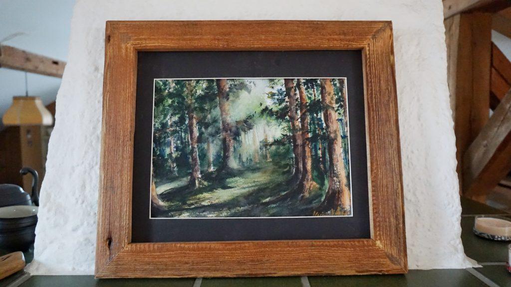 Aquarell Wald Landschaft Kaufen
