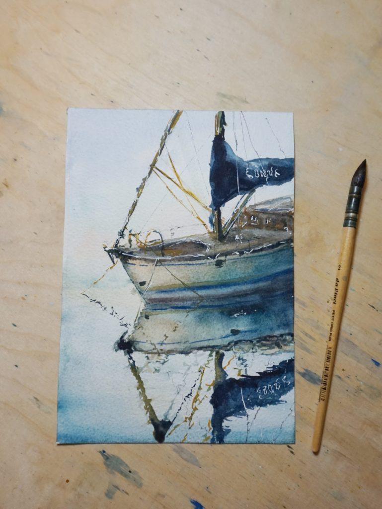 Aquarell-Kunstwerk kaufen